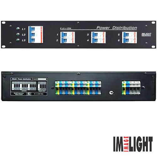 IMLIGHT POWER DISTRIBUTION L 6x63A
